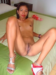Shaved Thai pussy